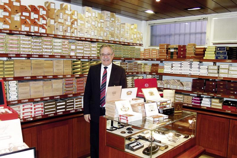 Urs Portmann, Zigarren-Experte