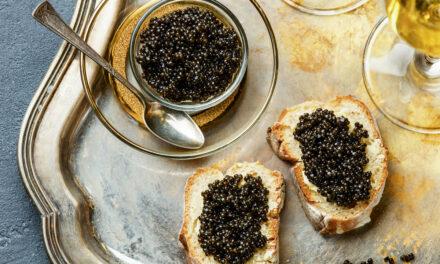 Manchmal muss es einfach Kaviar sein